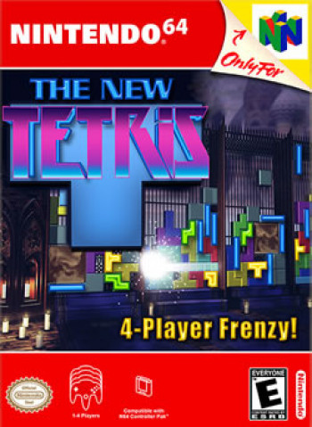 Capa de The New Tetris